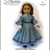 1850-01 ~ 1850s Day Dress