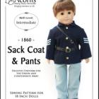 1860-02 ~ Sack Coat and Pants
