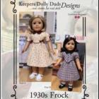 KDD-05 ~ 1930s Frock
