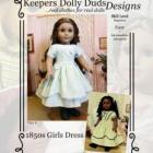 KDD-01 ~ 1850s Girls Dress