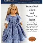 1770-03 ~ Sacque Back Gown and Caraco Jacket