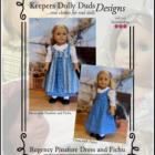 KDD-15 ~ Regency Pinafore Dress and Fichu
