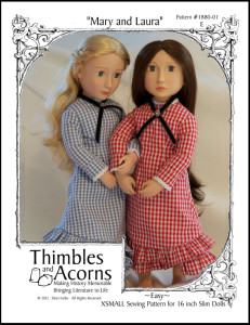 This pattern also available for A Girl for All Time dolls.