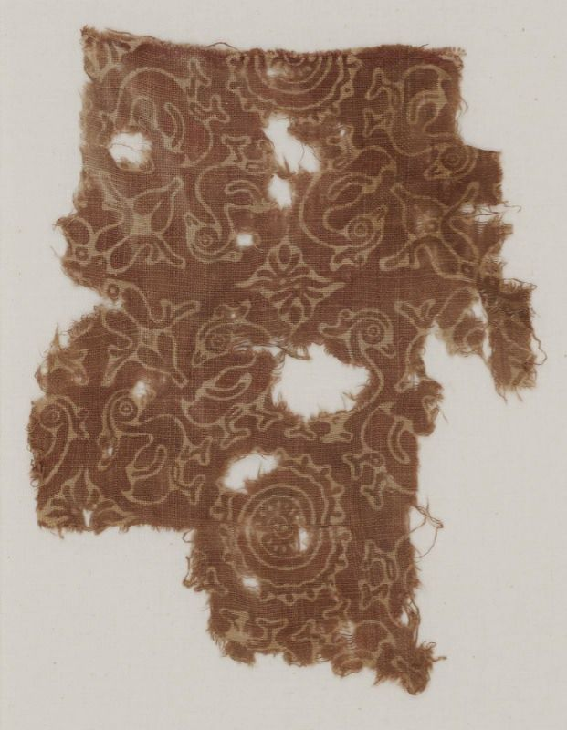 Indian Printed Cotton from the 1400s prior to European influence.