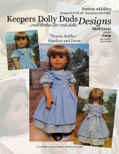 Prairie Ruffles, Keepers Dolly Duds Designs Pattern #KDD-03
