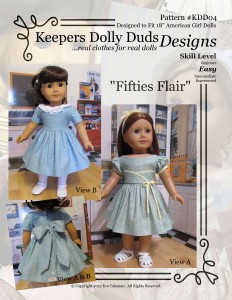 Fifties Flair, Keepers Dolly Duds Designs Pattern #KDD-04