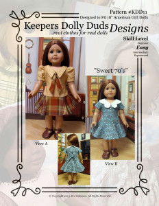 Sweet Seventies, Keepers Dolly Duds Designs Pattern #KDD-11