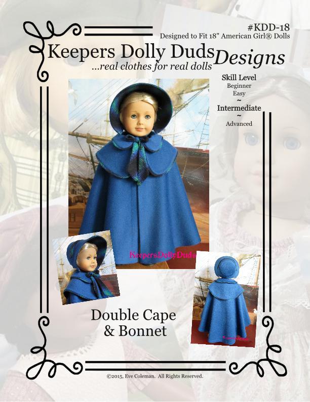 Double Cape and Bonnet