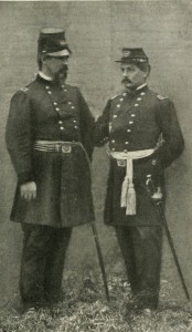 General McDowell and George McClellan, 1862.