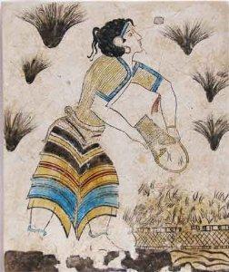 Minoan Saffron Gatherer