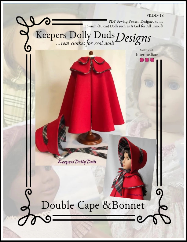 Double Cape and Bonnet