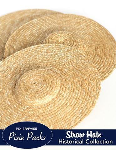Wide Brimmed Straw Hats