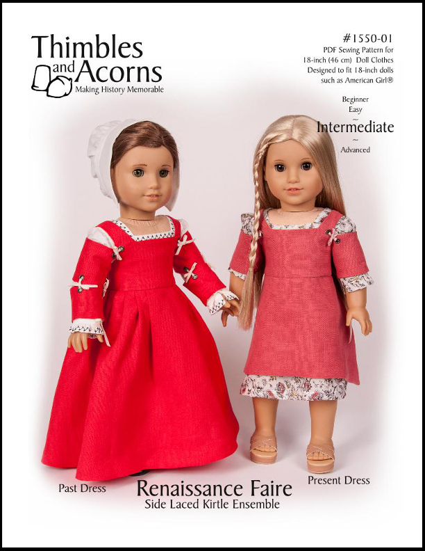 1550-01 ~ Side Laced Kirtle – Thimbles and Acorns