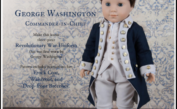 George Washington, Commander-in-Chief, by Shari Fuller, Thimbles and Acorns