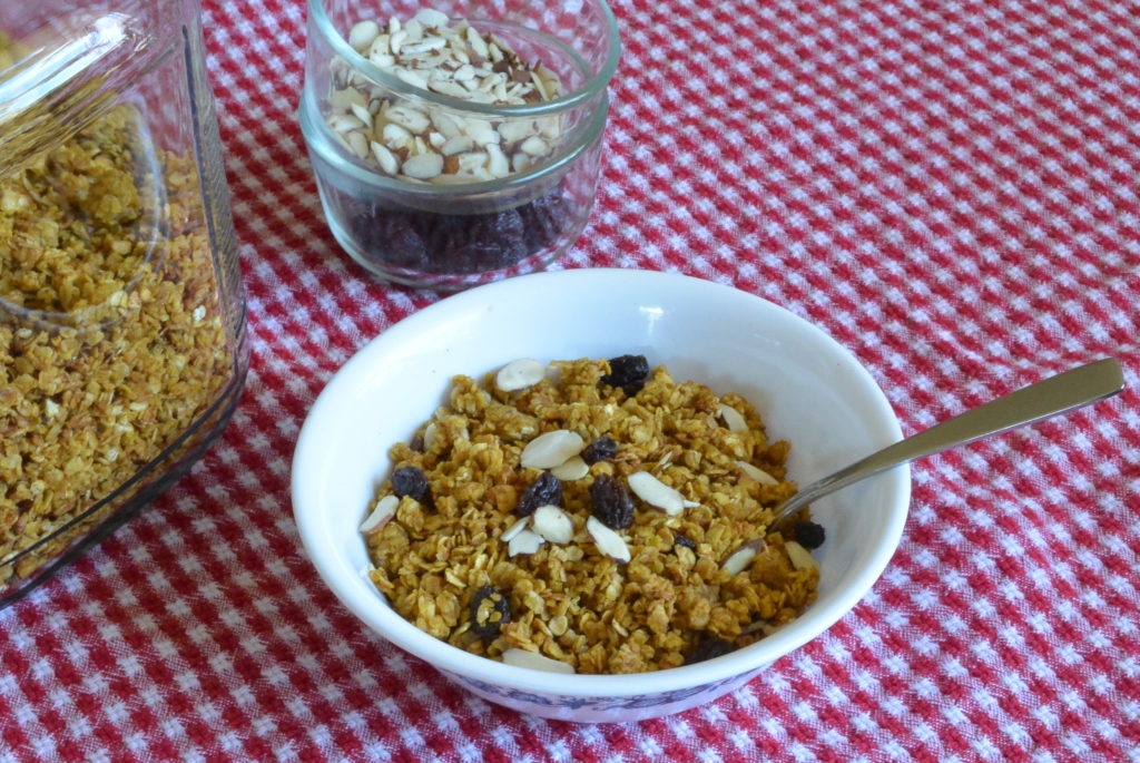 Pumpkin Spice Granola. Photo courtesy of Edward Fuller.