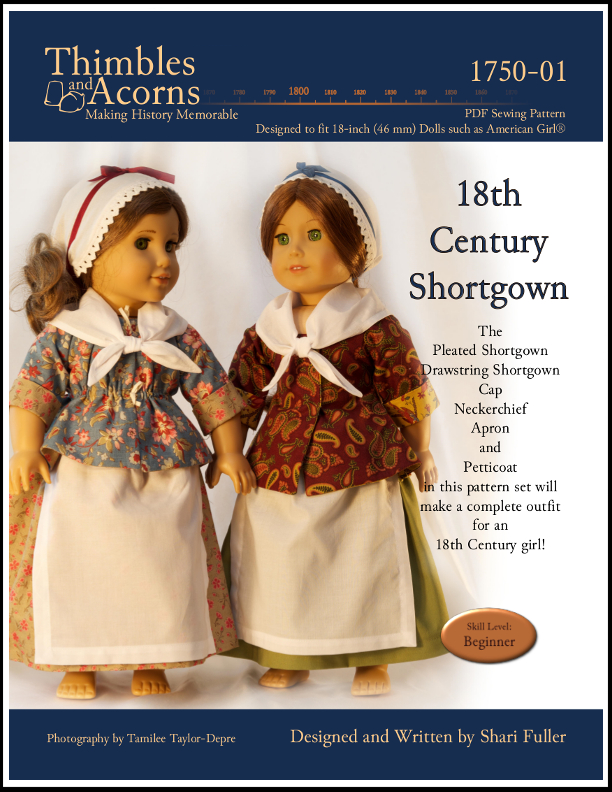 Shortgown, by Shari Fuller, Thimbles and Acorns