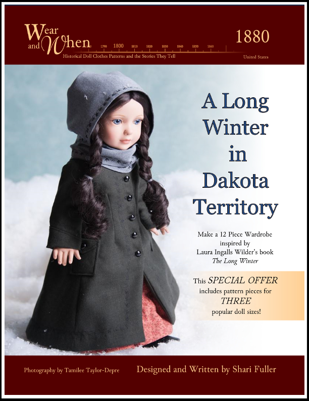 Wear and When, A Long Winter in Dakota Territory, by Shari Fuller, Thimbles and Acorns