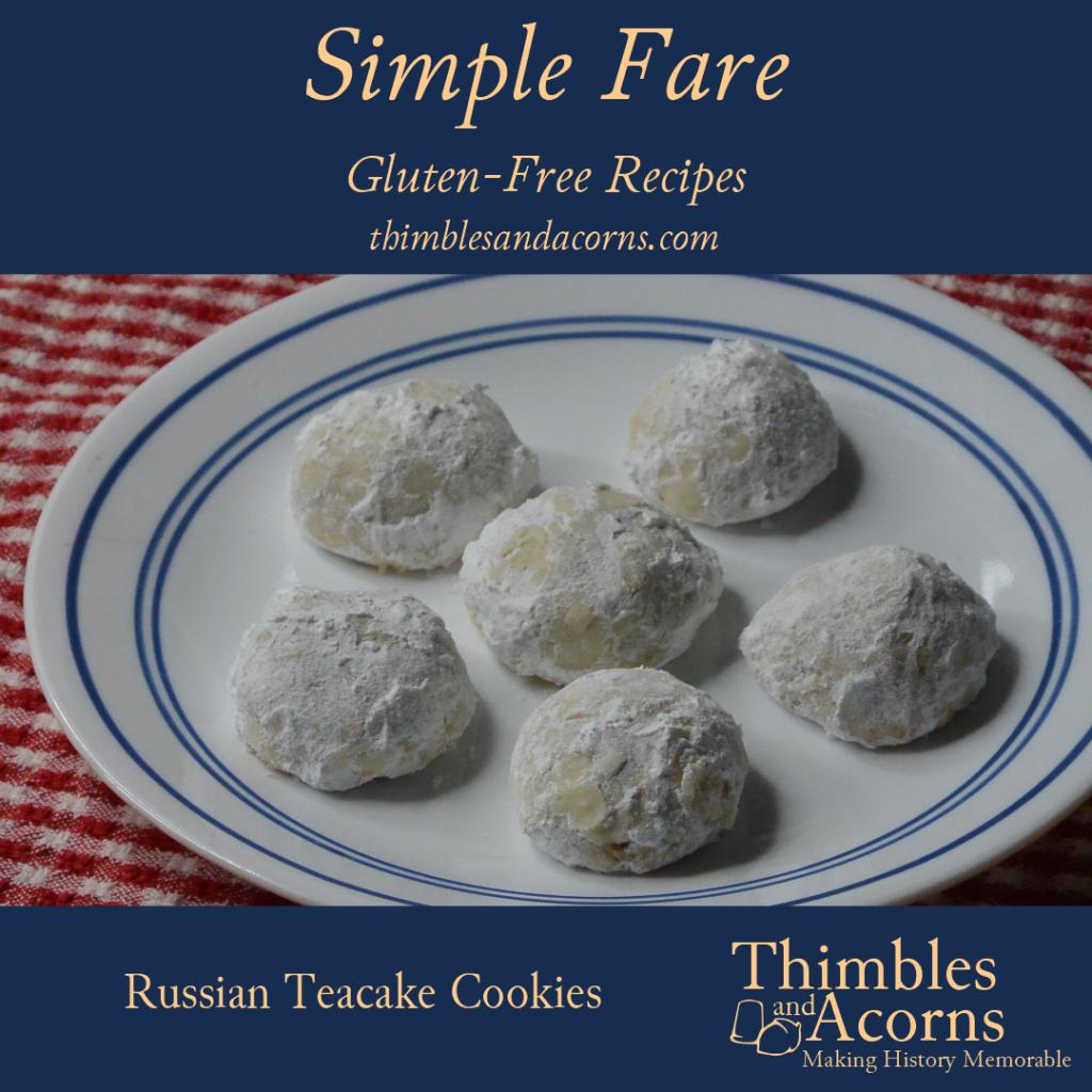 Gluten-Free Russian Teacakes